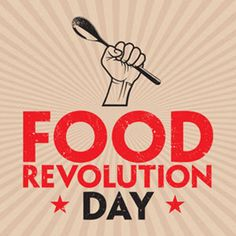 The Food Revolution Day logo