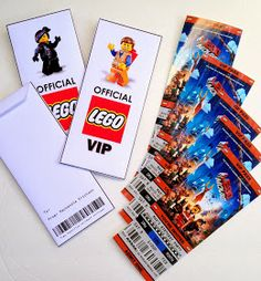 *Rook No. 17: recipes, crafts & whimsies for spreading joy*: Free Printable Ticket Style Party Invitations -- The Lego Movie