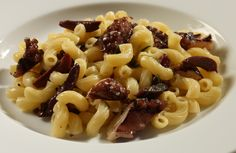 Barilla Elbows Pasta Salad with Black Olives and Octopus