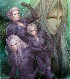 Yazoo / Loz / Kadaj / Sephiroth