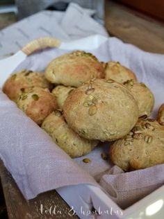 Kesäkurpitsasämpylät Potatoes, Chicken, Meat, Vegetables, Vegetable Recipes, Veggie Food, Potato, Veggies, Cubs