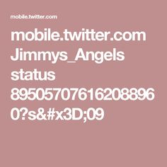 mobile.twitter.com Jimmys_Angels status 895057076162088960?s=09