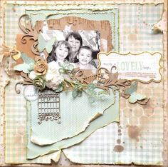 amazing layout from Blenida Spencer on the Dusty Atic blog. DA have amazing products. I wish they were easier to get here!