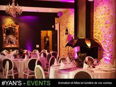 Dj Animation, Deco Led, Location, Events, Mirror, Home Decor, Decoration Home, Room Decor, Mirrors