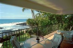 HALE PŌHAKU VACATION RENTALS — Very private 6-unit oceanfront condo steps from beach & water. Watch turtles, dolphins & whales from your private lānai. Hale Pohaku Vacation Rental condo in Kailua Kona from VRBO.com!