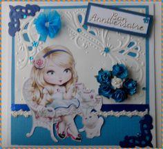 carte d'anniversaire pour ma belle fille