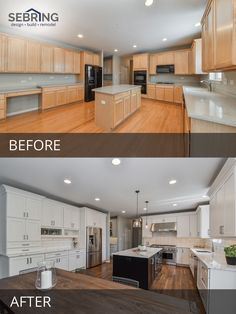 135 best before after kitchen remodeling projects images in 2019 rh pinterest com