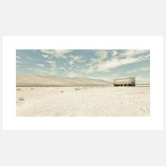 If Death Valley is anything, it's a place of extremes. One of the driest and hottest regions in California, it's not for the squeamish traveler. This signed photographic print by Chris Crisman captures a slice of the park on a scorching, bone-dry afternoon and stands as a gentle testament to Mother Nature's intrinsic beauty even when at its most adversarial.