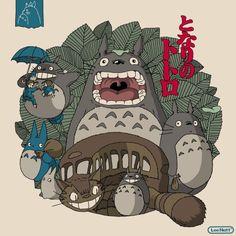 My Neighbor Totoro Poster by Man-Vs-Machine