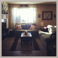 very similar to layout in my apartment...  just a few changes/adjustments.