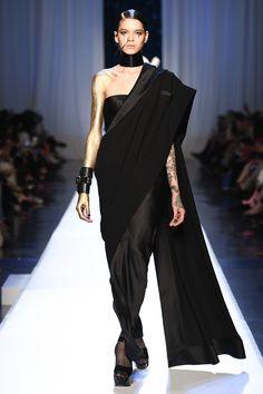 Jean Paul Gaultier Fall 2017 Couture Fashion Show - Maria Rai
