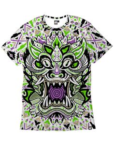 Tribal Beast Men's Tee-front