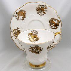 Royal Albert Lyric Shape Zodiac Cup Saucer Set | eBay