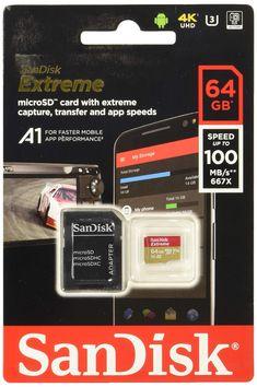 ohne SD-Adapter Ideal f/ür Serienaufnahmen und 4K Video Kingston MicroSD Canvas React SDCR 64GBSP klasse 10