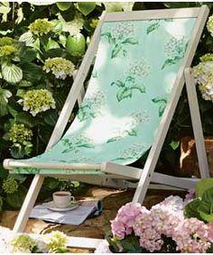 Laura Ashley Deck Chair ------ @Marla Landreth Landreth Landreth Landreth Nichols
