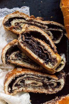 Kokosh Cake ou babka, brioche tourbillon au chocolat - Hongrie