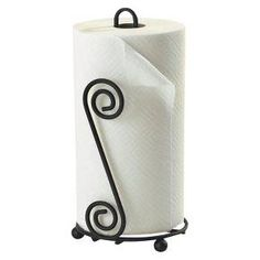 Scroll Paper Towel Holder - Black : Target