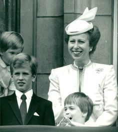 Princess Royal Anne with Prince Pater Philipis. Princess Diaries 2, Princess Anne, Prince And Princess, Princess Of Wales, Prince Philip, Prince Charles, Vintage Photographs, Vintage Photos, Lysette Anthony