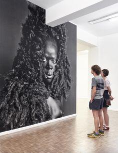 "Audio from Zanele Muholi doing a walkabout of her exhibition ""Somnyama Ngonyama"" at Stevenson in Braamfontein, Johannesburg on 20 November 2015."