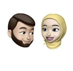 Muslim Girls, Muslim Couples, Cute Couple Art, Cute Couples, Girl Cartoon, Cartoon Art, Cartoon Wallpaper Hd, Girl Emoji, Anime Muslim