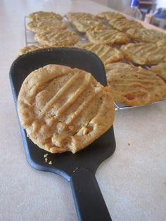 Warm Vanilla Sugar   Flourless Peanut Butter Cookies