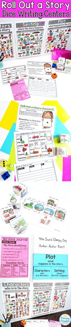 My Roll Out a Story Centers have always been a favorite choice in my classrooms! This center pack is the perfect resource to help your kindergarten, first grade, second grade and third grade writers during your center time!