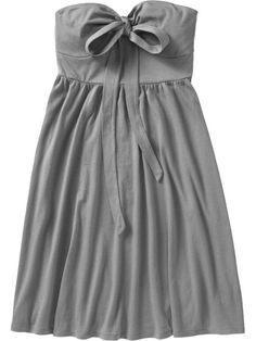 a grey dress ... what drew me to it was the bow