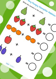 The Very Hungry Caterpillar Addition Sheet