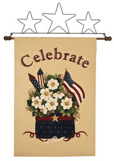 Celebration Banner project from DecoArt