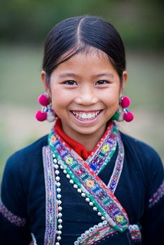 Vietnamese girl, in traditional clothes which are also an example of stereotypes