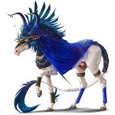 Unicorn Morgan Cremello