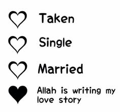Yes exactly .. Allah is writing my love story slowly