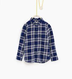 Image 1 de Chemise à carreaux de Zara