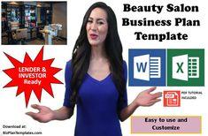 Beauty Salon Business Plan Template Kit. Start and run a Beauty salon. Salon Business Plan, Business Planning, Microsoft Office Programs, Salon Services, Business Plan Template, Salons, Templates, Kit, How To Plan