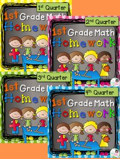 ALL YEAR! This Math Homework will save you time and paper while providing your students with a weekly skill review of the 4 Math Common Core State Standards. The design is child friendly and inviting while packed with real work. Many assignments are explained and modeled so students can complete the homework independently.