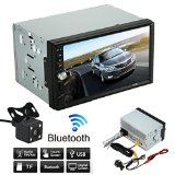 #9: Nolia 7 inch Double 2 Din Car Stereo MP5 MP3 Player Digital Audio Receiver with Bluetooth USB AUX  Parking Camera - stereos (http://amzn.to/2bJuIg3) video (http://amzn.to/2bK3YaB) speakers (http://amzn.to/2bZfMGS) accessories (http://amzn.to/2brKMAO) radar detectors (http://amzn.to/2bZfobC) GPS navigation (http://amzn.to/2bZeuMn)