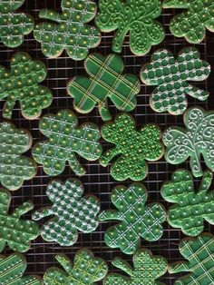 shamrock cookies | Flickr - Photo Sharing!