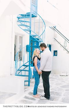 Romantic Vacation in Paros, Greece | Photography by Genevieve Fundaro Photography