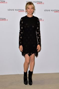 Pin for Later: Celebs Were Out in Force at Louis Vuitton's London Fashion Week Party Michelle Williams