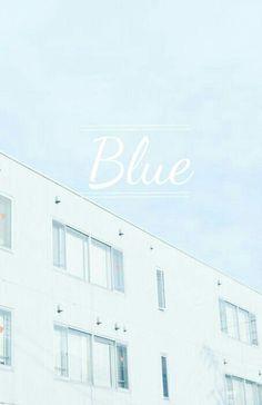 Blue pastel asthetic tumblr