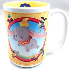Disney Parks Dumbo Cuties Character Ceramic Mug