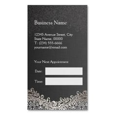 Hair Salon Business Card  Salon Business Business Cards And Card
