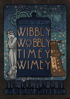 Gorgeous fan art nouveau TARDIS by Koroa Doctor Who Weeping Angel Dalek- wibbly wobbly timey wimey The Doctor, Serie Doctor, Doctor Who Art, Doctor Who Room, Doctor Who Poster, Doctor Who Tumblr, Art Nouveau, Art Deco, Fanart