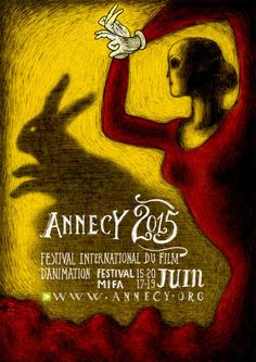 This year's poster for Annecy Festival of Animation — designed by Regina Pessoa