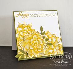 Happy mothers day with Nature's Perfection from Stampin' Up