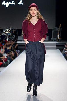 agnès b. fashion show women winter 2015