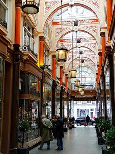 Royal Arcade, London  love these little shops