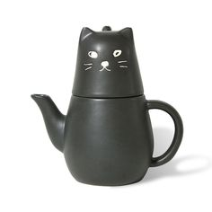 cat teapot for one