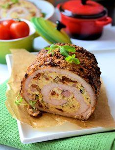 Pyszny schab na świąteczny obiad lub po prostu na kanapkę jako domowa wędlina