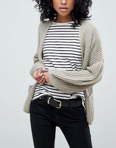 [Affiliate] Capsule Wardrobe Inspiration - ASOS Oversized Chunky Cardigan - fall style